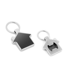 Metal Bottle Opener Keychain