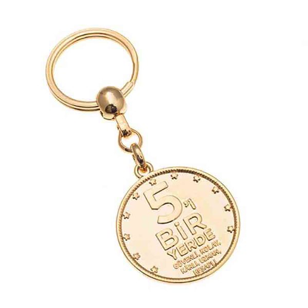 Gold Plating Keychain