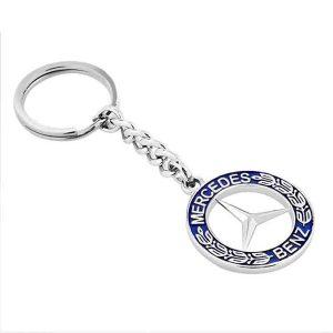Mercedes Metal Keychain