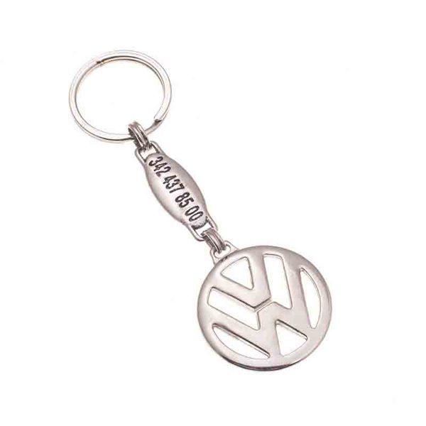 Volkswagen Metal Keychain