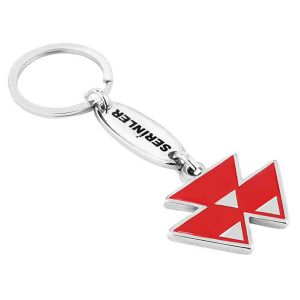 Mitsubishi Nickel Keychain