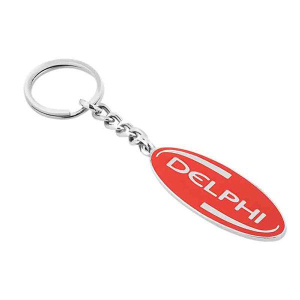 Metal Plasto Keychain