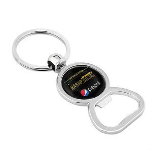 Metal Bottle Opener Plasto Keychain