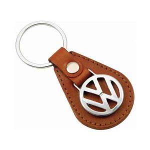 Volkswagen Leather Keychain