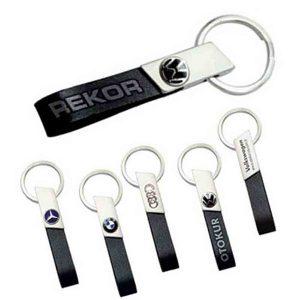 Rekor Leather Keychain