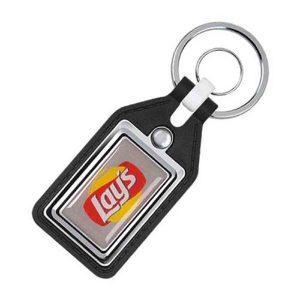 Plasto Leather Keychain