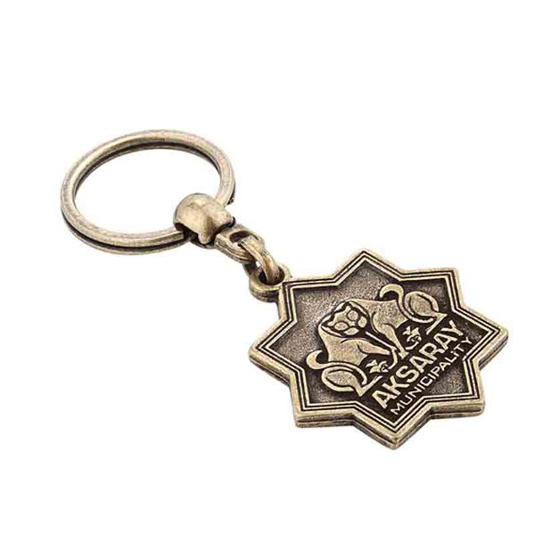 Metal Antique Keychain