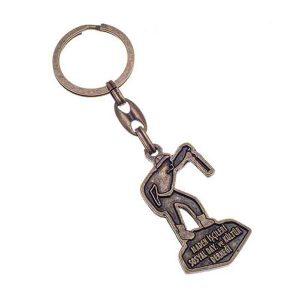 Metal Antique Keychain