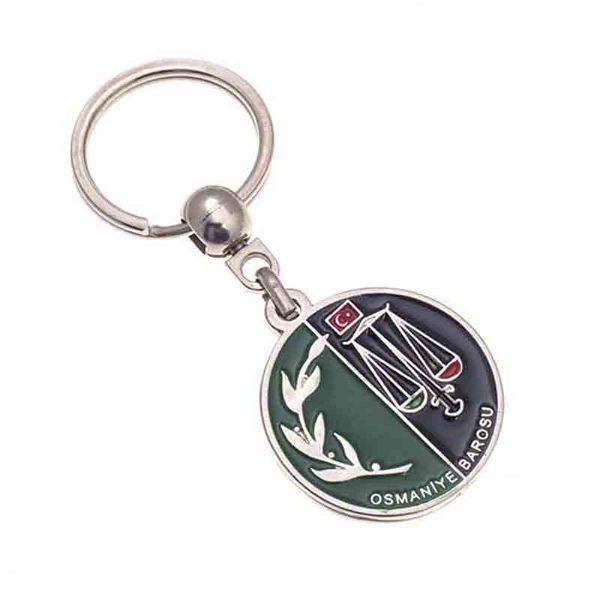 Osmaniye Belediyesi Nickel Keychain