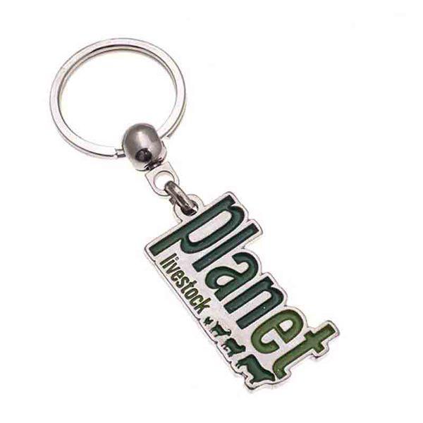 Planet Nickel Keychain