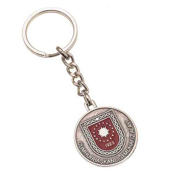 Cumhurbaşkanlığı Nickel Keychain