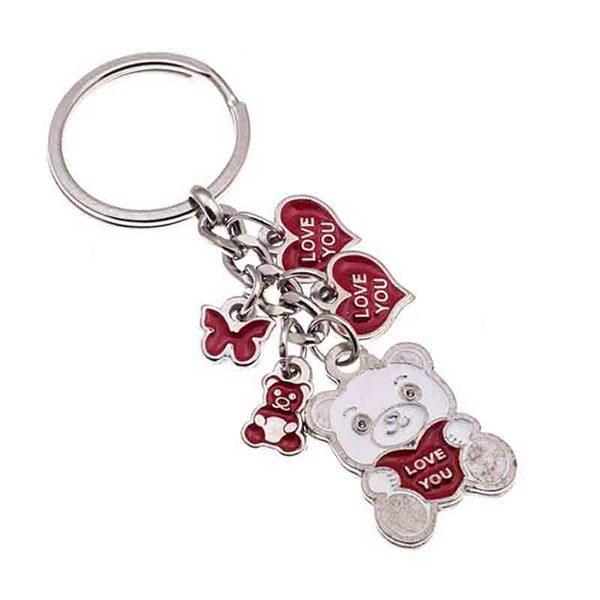 Love Nickel Keychain