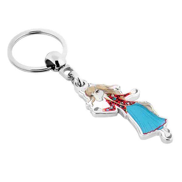 Nickel Keychain