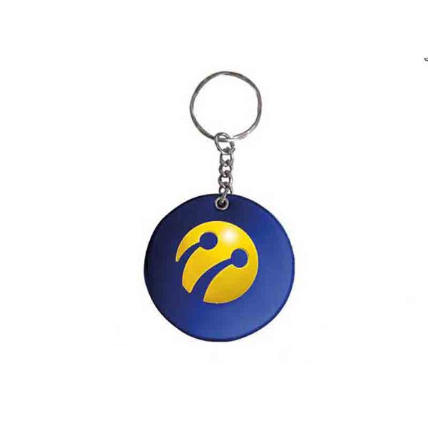 Turkcell Puff Keychain