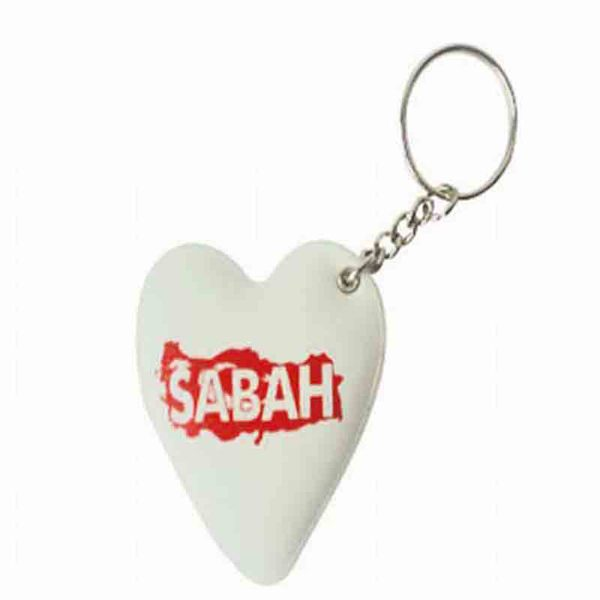 Sabah Gazetesi Puff Keychain