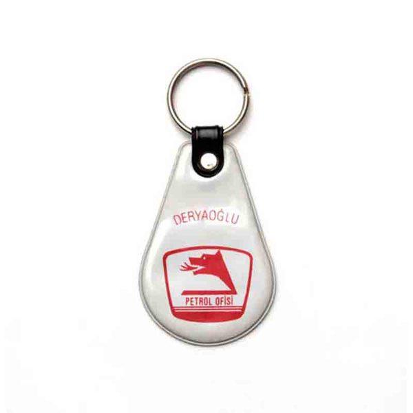 Petrol Ofisi Puff Keychain