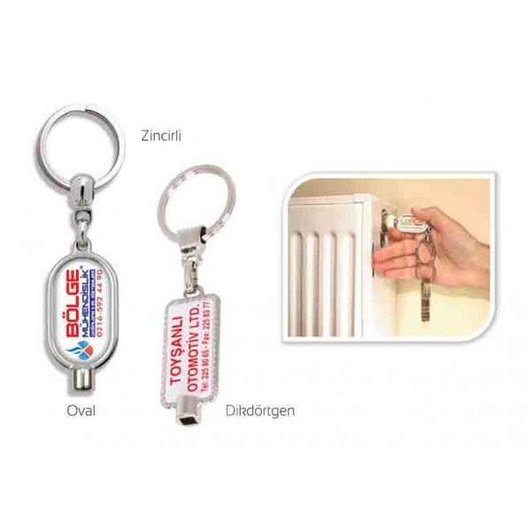 Metal Air Vent Keychain