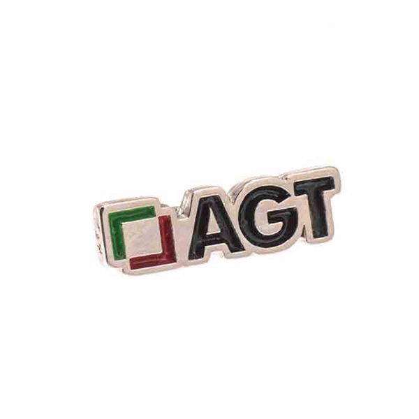 Enamel Nickel Badge