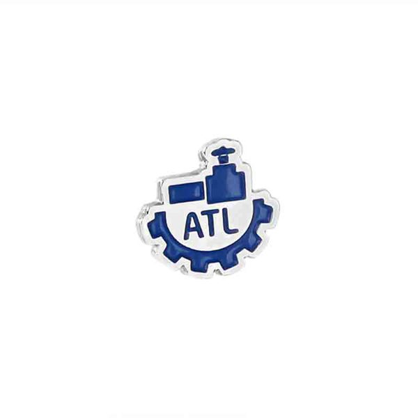 Enamel Nickel Badge