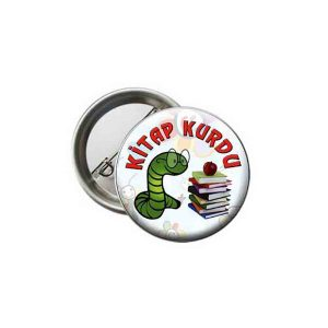 Button School Badge