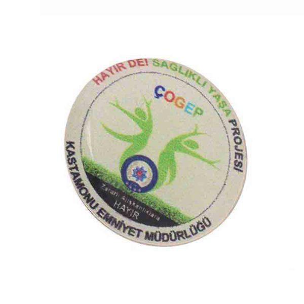 Plasto Badge