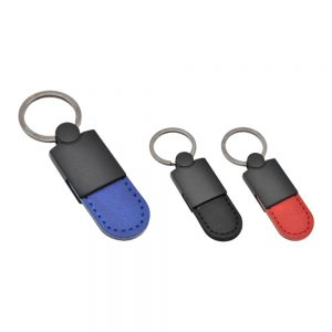 Metal Black Keychain