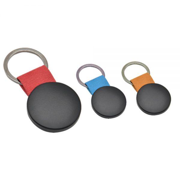 Metal Black Keychain