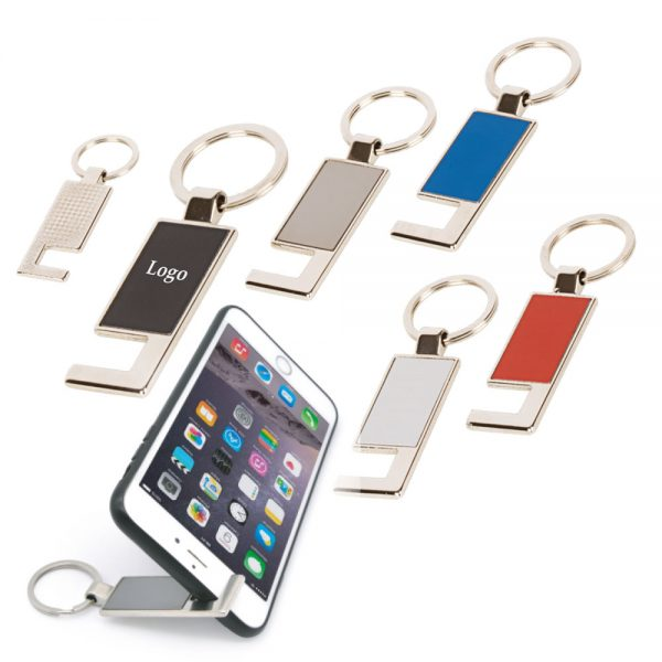 Metal Keychain (Phone Stand)