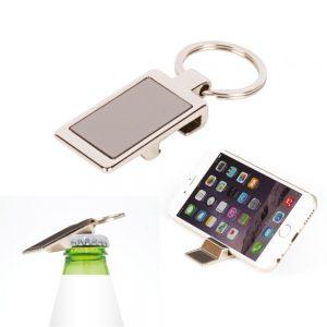 Metal Phone Stand Keychain